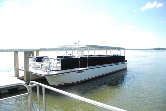 Savannah Port Tours Pontoon